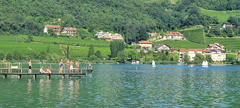 caldaro-lake-summer