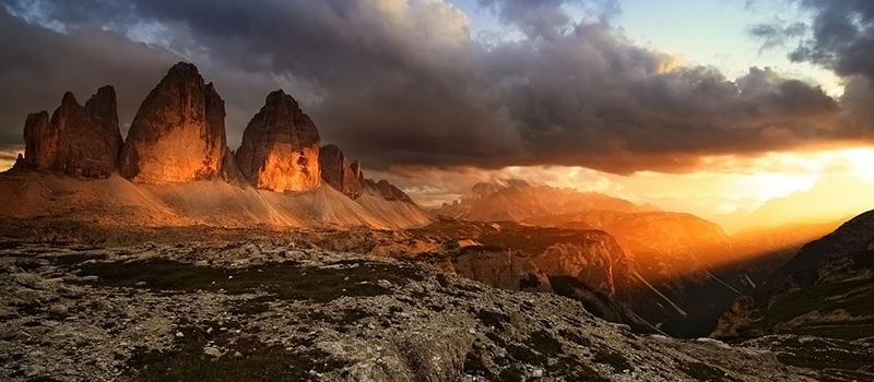 three-peaks-of-lavaredo-sunset