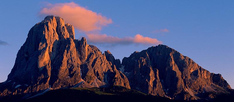 trekking-sassolungo-sunset