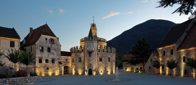 novacella-abbey-exterior-sunset