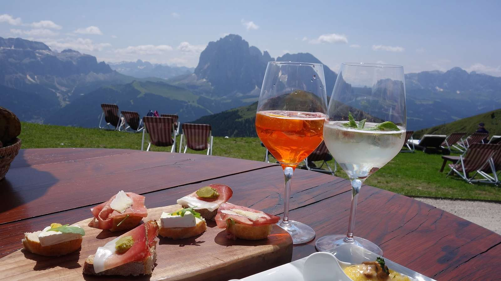 Food & Wine in the Dolomites